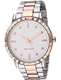 Women's Rose Gold-Tone and Silver-Tone Bracelet Watch, NW/2313SVRT