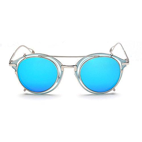 lunettes Lunettes Classique Style en étoiles soleil Hommes Cadre soleil élégant de Rock les Rimmed Punk de amovible pour femmes de Lunettes de solei les et soleil pour Lunettes Unisexe plastique Métal 7ZUtxq1wH