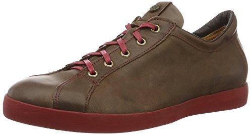 Think Kenidi, Zapatos de Cordones Derby para Hombre Marrón (espresso/kombi 42)