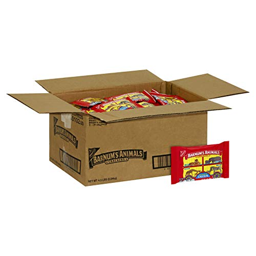 - Barnum's Animal Crackers, 1-Ounce Bags (Pack of 72)