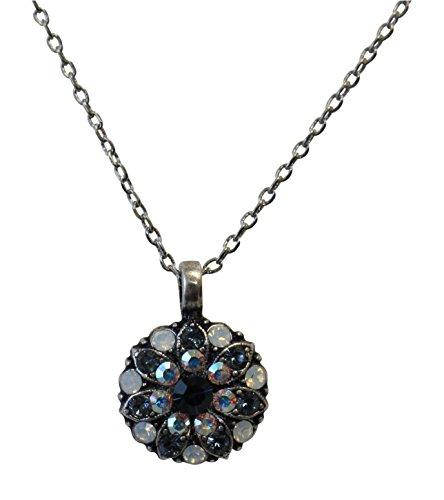 Mariana Guardian Angel Mood Indigo Swarovski Crystal Pendant Necklace 1069