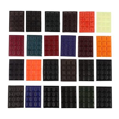 ULTNICE Kaars Wax Dye Kaars Kleur Dye Kit Kaars Kleur Dye Blok 24 Kleuren Soja Kaars Dye Voor Diy Kleurstof Soja Wax…