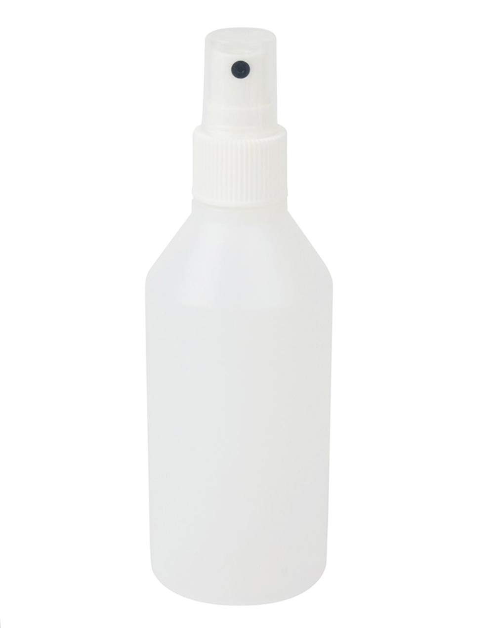 5 x 200mL Natural HDPE PLASTIC BOTTLES w/White ATOMIZER Spray Tops for Liquids/Fragrance/Perfume/Salons/Travel/Aftershave Lucemill Packaging