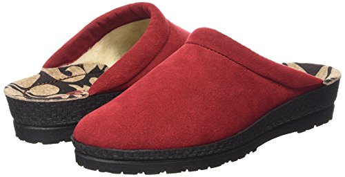 Rouge Medoc Chaussons Chaud 2291 Femme Doublé 90 43 Rohde WURvx64n6