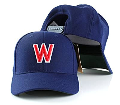 MLB American Needle Cooperstown Tradition Wool Adjustable Snapback Hat (Washington Nationals)