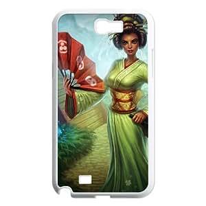 Samsung Galaxy N2 7100 Cell Phone Case White League of Legends Sakura Karma OIW0390590