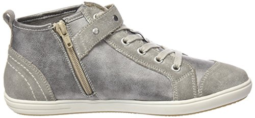 Remonte D9191 Damen High-Top Grau (whitedust/grey/antique / 40)