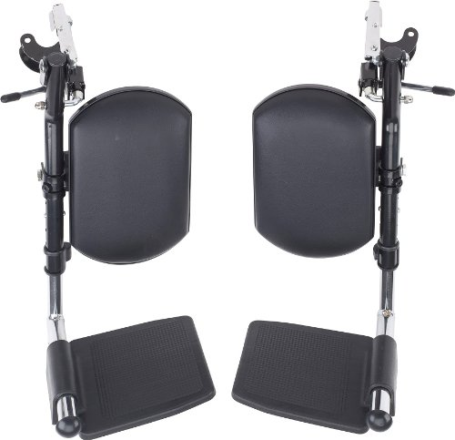 Wheelchair Elevating Legrests with Padded Calf Pads 1 Pair By (Elevating Legrest)