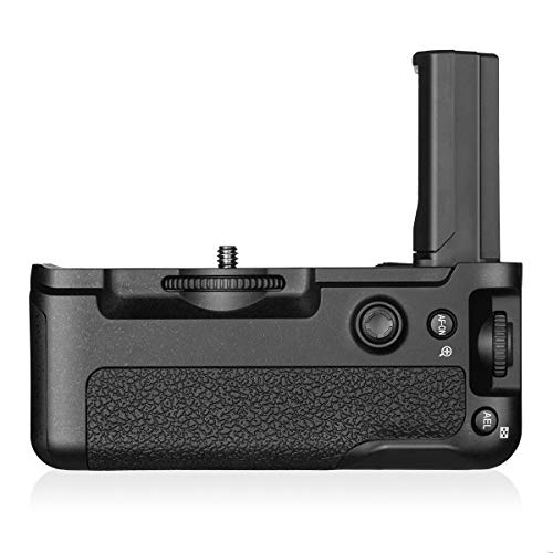 Powerextra VG-C3EM Vertical Battery Grip Replacement for Sony Alpha A9 A7III A7RIII Digital SLR Camera Work with 1 or 2 Pcs NP-FZ100 Battery (Grip Sony Vertical)