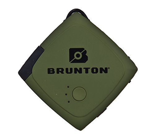 Brunton Pulse 1500 mAh Portable Power Bank, Outdoor Green by Brunton