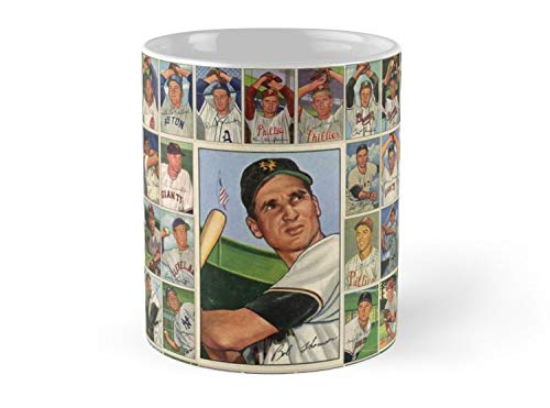 Baseball Card 52 Dreams 11oz Mug - Made from Ceramic - Great gift for family and friends -