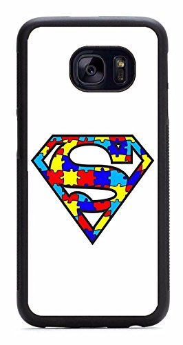 Deal Market LLc - Autism Awareness ribbon puzzle different not less -For Samsung Galaxy Note 8. Made and shipped from the USA Ribbon Cell Phone Case