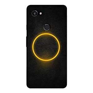 Cover It Up - Yellow Ring Pixel 2 XL Hard case