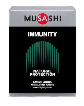 MUSASHI IMMUNITY スティック 3.6g×45本 ムサシ イミュニティ 45袋 B07DP2XC73
