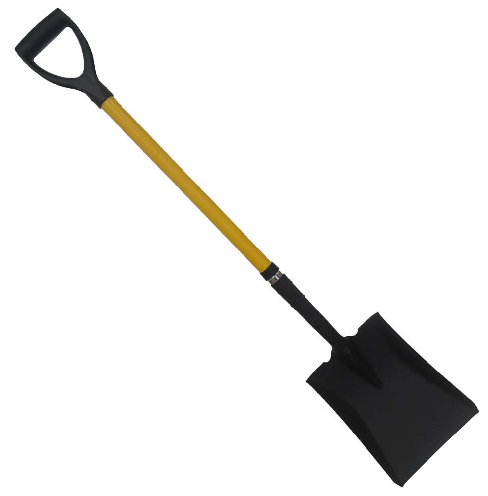 ToolUSA 45'' Long, Heavy Duty Flat Edge 11.5'' X 8.5'' Shovel: LH-28912-Z06