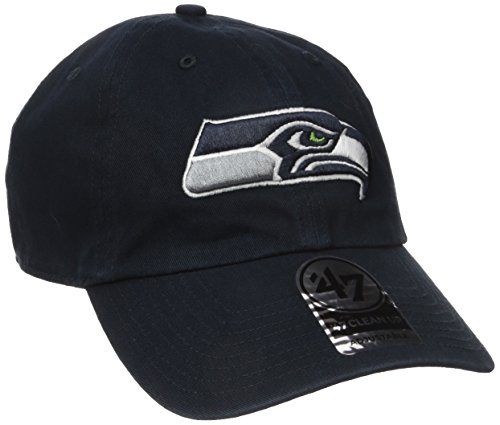 NFL Seattle Seahawks '47 Clean Up Adjustable Hat, Navy, One Size