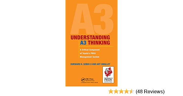 Amazon understanding a3 thinking a critical component of amazon understanding a3 thinking a critical component of toyotas pdca management system ebook durward k sobek ii art smalley kindle store fandeluxe Images