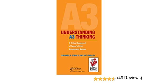 Amazon understanding a3 thinking a critical component of amazon understanding a3 thinking a critical component of toyotas pdca management system ebook durward k sobek ii art smalley kindle store fandeluxe Image collections