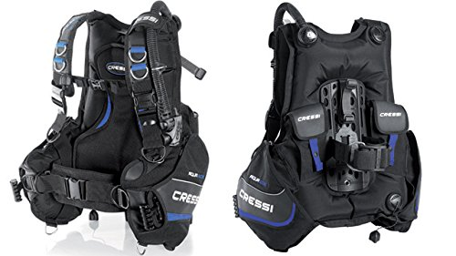 Cressi Aquaride Blue Pro Buoyancy Compensator Device, Large