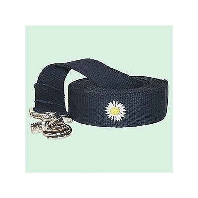 Daisy Cotton Leash Color: Olive, Size: Large
