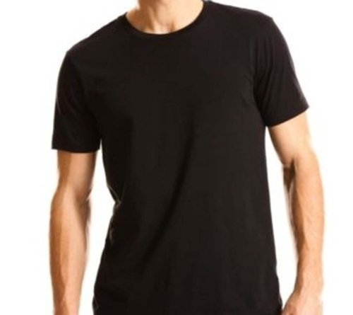 Kirkland Men's Crew Neck Black T-shirts (Size: X-Large /Pack of 4)
