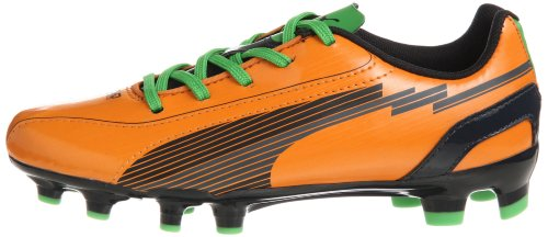 Orange Chaussures 5 102595 Enfants Pour flame Football Sport Orange Evospeed Fg team De Charcoa Puma Unisexe 02 Jr 6qPXp56