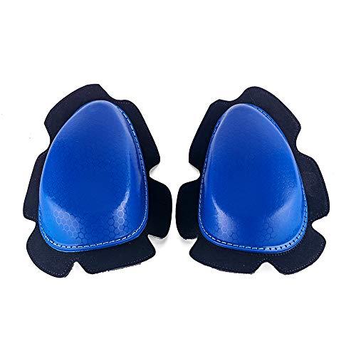 MOTO4U Universal Motorcycle Racing Knee Slider New In Blue
