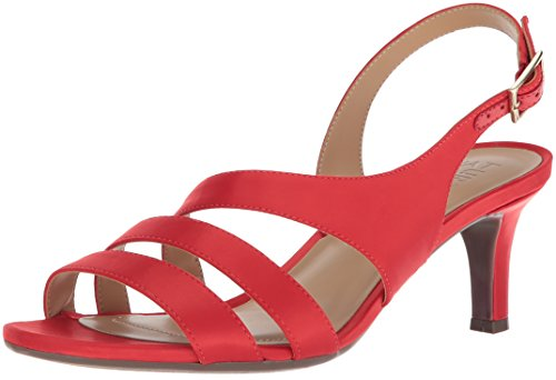 Naturalizer Women's Taimi Dress Sandal Papaya Red free shipping extremely free shipping 100% authentic WvD8z