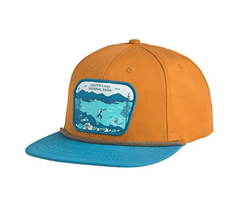 Sendero Provisions Co. Crater Lake National Park Hat, Cedar/Teal, Adjustable by Sendero Provisions Co.