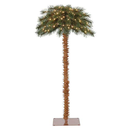 Island Breeze 5' Artificial Christmas Palm Tree w/Lights (Tree Palm Fiber Optic)