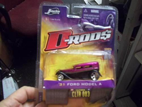 - D-Rods Jada Toys '31 Ford Model A Jada Toys Purple New