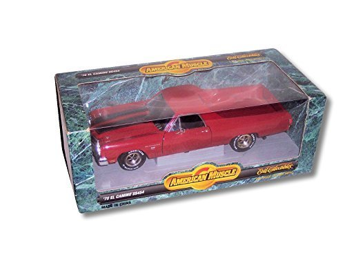 Ertl American Muscle Red '70 El Camino SS454 1:18 Scale Die Cast Model 18 Ertl Diecast Model