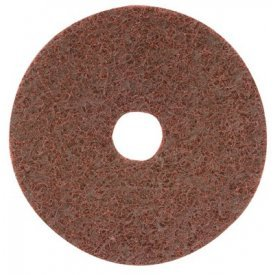CGW Abrasives 70030 Surface Conditioning Discs, Hook-Loop w/Arbor Hole 4-1/2'' Med Grit Alum Oxide - Pkg Qty 10, (Sold in packages of 10)