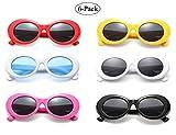 Retro Oval Mod Thick Frame Clout Goggles Kurt Cobain Sunglasses (6-color)