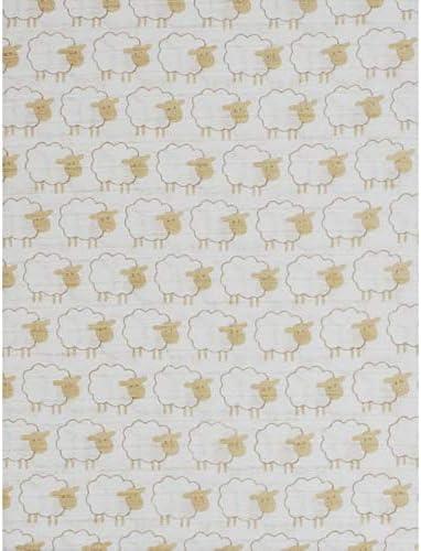 Duffi Baby 5590-05 - Muselina estampada 100% algodón, 120 x 120 cm ...