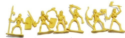 Skeleton Warrior 20 Piece 2 inch Plastic Figure Set (Set Plastic Figure)