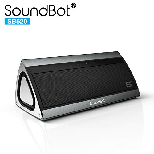 SoundBot SB520 3D HD Bluetooth 4.0 Wireless Speaker for 15 h