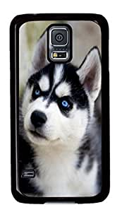 Samsung Galaxy S5 Case Samsung Galaxy S5 Cases Husky Animal Polycarbonate Hard Case Back Cover for Samsung Galaxy S5 Black