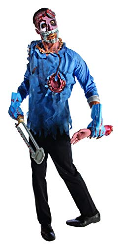 Rubie's Costume Zombie Doctor Costume, Black/Blue, -