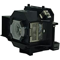 AuraBeam Economy Epson ELPLP34 Projector Replacement Lamp with Housing