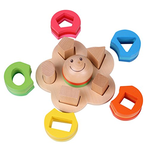 Toys For 4 And Up : Rolimate educational preschool wooden shape color