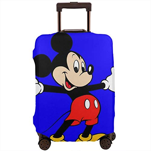 Travel Luggage Cover Mickey Mouse Suitcase Protector Washable Baggage Covers 18-32 Inch]()