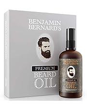 Benjamin Bernard Baardolie voor mannen - voor een gezonde baardgroei en een verzorgde stijl - 100 ml