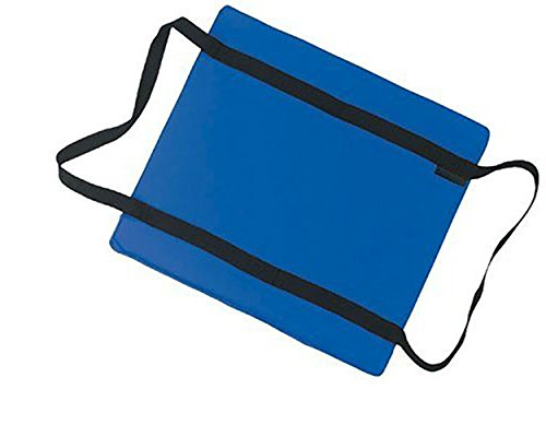 big_store Utility Flotation Cushion Doubles US Coast Guard Approved Type IV Flotation Device Soft Polyester Shell Durable Crosstech Flotation Foam Strong 1 inch Webbed Straps Blue & ebook by by big_store