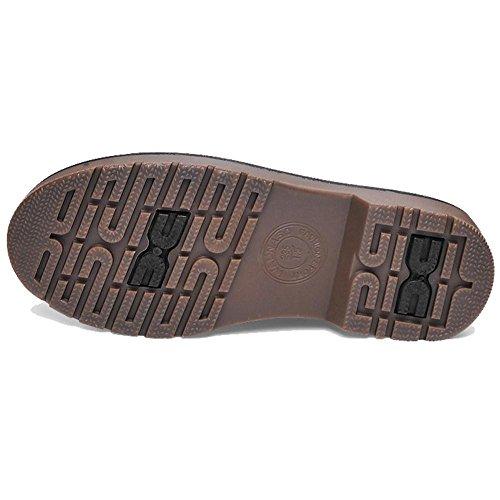 tobillo Casual zapatos 39 Martin invierno cordones plano mujeres caliente Retro piel corto de talón 37 botas 74vxqF