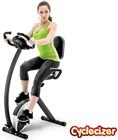 CycleCizer Exercise Bike Stationary for Seniors Home Fitness Stationary Equipment Aerobic Pedal Exerciser