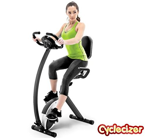 Cyclecizer Exercise Bike Upright Stationary For Home