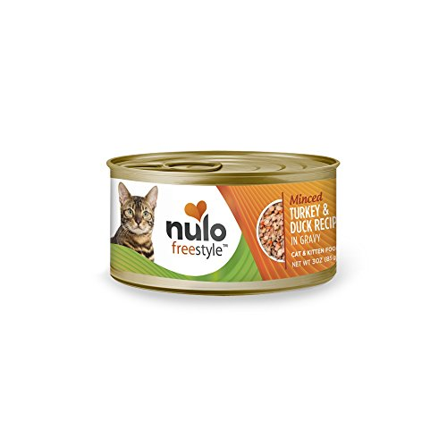 Nulo Adult & Kitten Grain Free Canned Wet Cat Food (Turkey & Duck Recipe, 3 Oz, Case Of 24)