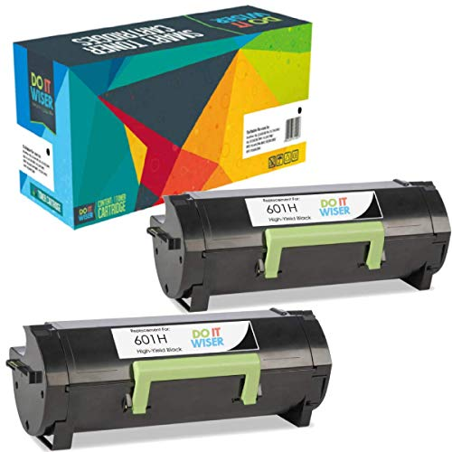 Do It Wiser Compatible 60F1H00 601H Toner for Lexmark MX310d