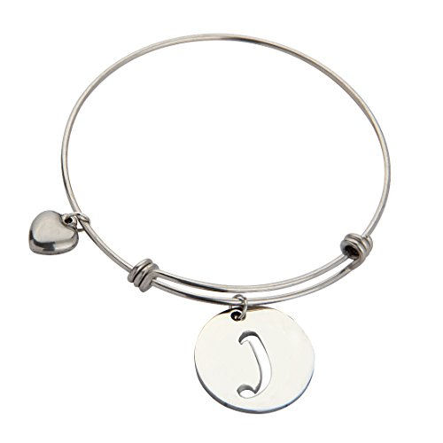 ZUOBAO Stainless Initial Expandable Bracelet product image